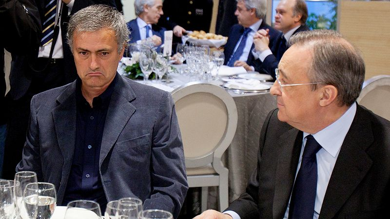 Real Madrid president wants shock Jose Mourinho return