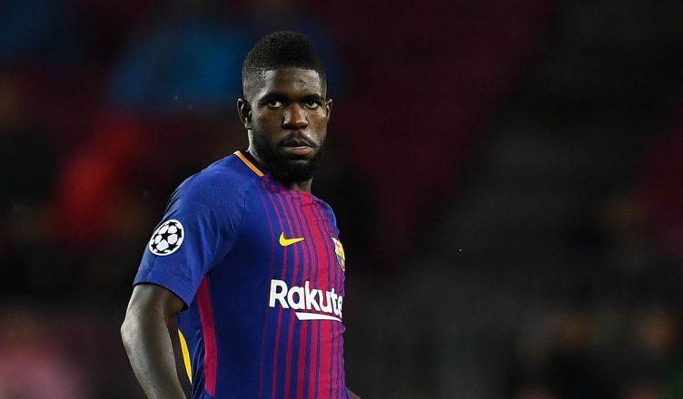 Samuel Umtiti puts off Man Utd switch by renewing Barcelona contract