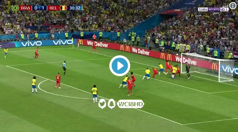 (Watch) Lukaku's brilliant build-up play for De Bruyne long-range screamer