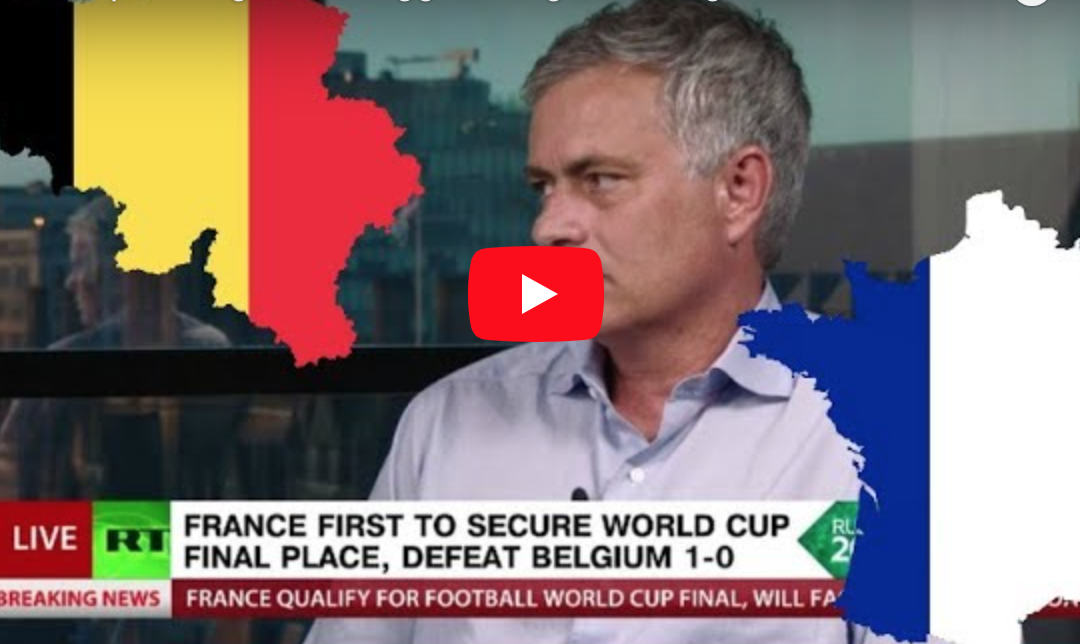 (Watch) Mourinho very complimentary of Man Utd target during World Cup analysis