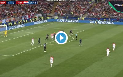 (Watch) Man Utd target scores from cracking strike to equalise against France