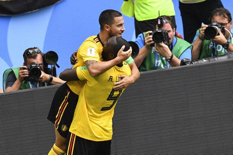 Hazard speaks out after confronting Lukaku before striker's goal-fest at World Cup