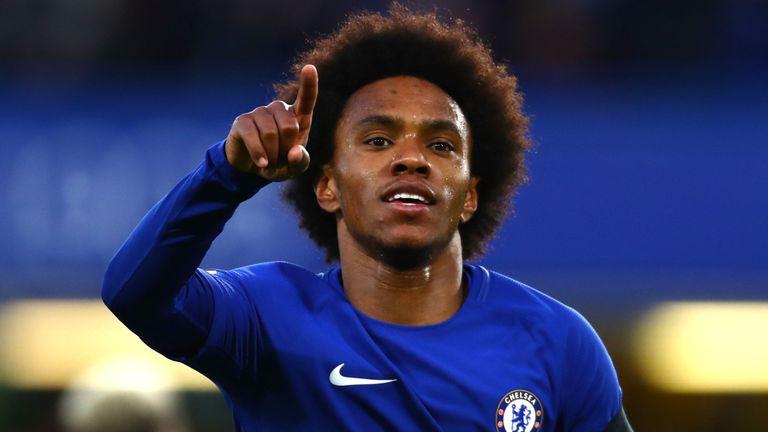 Chelsea Accept £66m Man Utd Bid For Willian, But Mourinho
