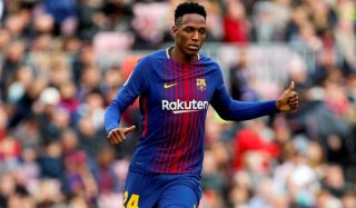 Yerry mina of barcelona could be the fix to mourinhos centre back yerry mina of barcelona could be the fix to mourinhos centre back headache stopboris Choice Image