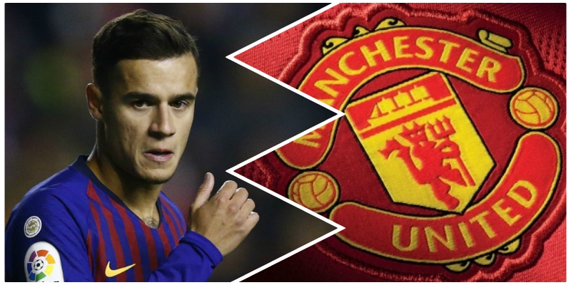 Image result for coutinho manchester united