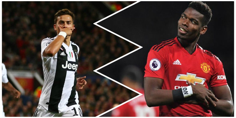 Image result for Dybala sends strong message to Pogba