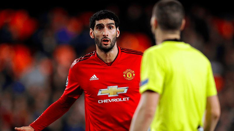2b3b3ddb5 Marouane Fellaini will end his five year career at Old Trafford having  agreed a deal to sign for Chinese club Shandong Luneng. The burly Belgian  will move ...