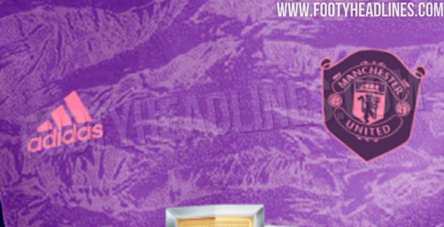 Purple Pink Manchester United 2019 20 Goalkeeper Kit Leaked