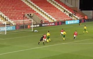 Watch Ramanzani Scores Penalty As Man Utd U23 Double Lead Vs Norwich