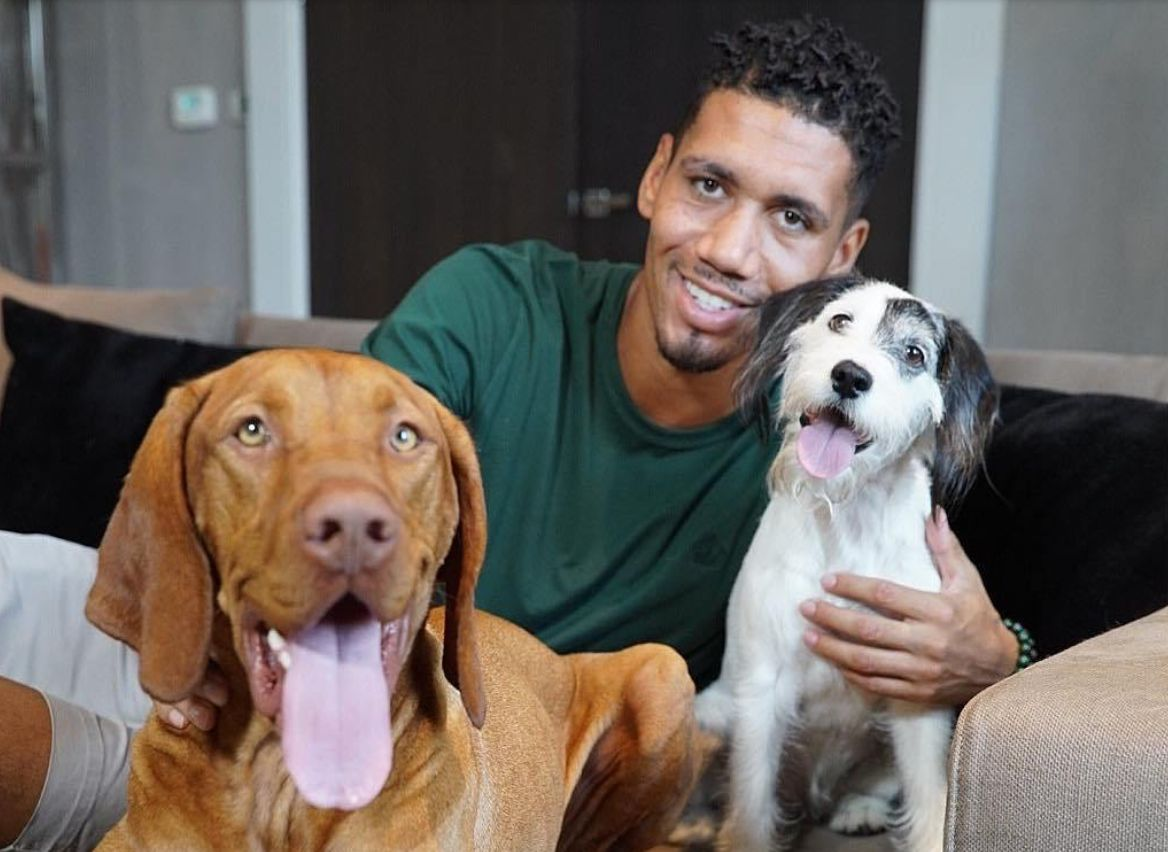 Chris Smalling Explains How Leaving Man Utd Left One Of His Dogs Upset Football Addict