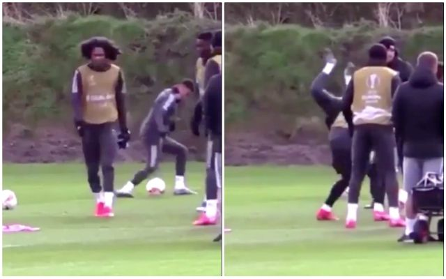 Video Jesse Lingard Fooling Around In Man Utd Training