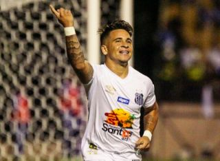 Young Santos Forward Reveals His Dream To Play For Manchester United
