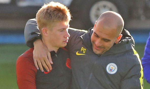 Pep Guardiola gives Kevin De Bruyne update ahead of Manchester derby