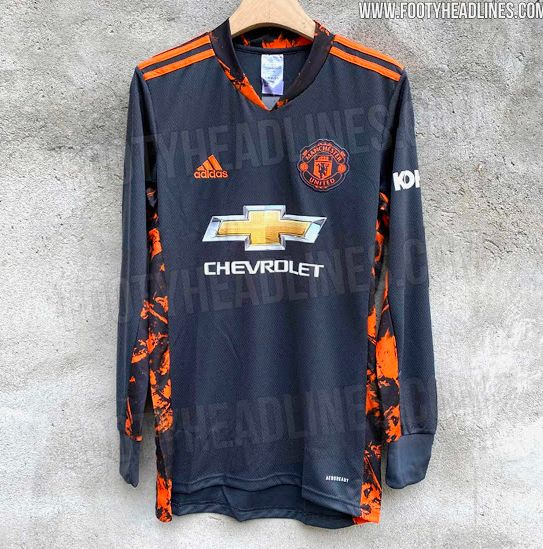 Photos Man United Goalkeeper Home Shirt For 2020 21 Season Leaked