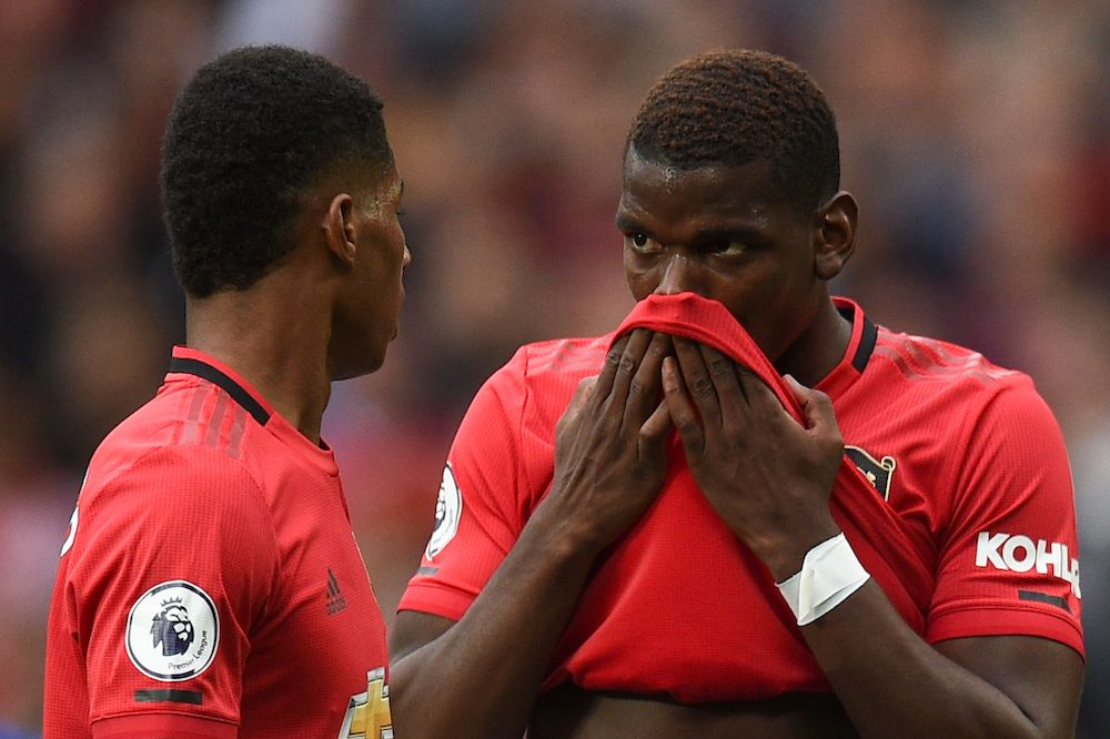 Man United S Best Xi For Tottenham Clash Including Pogba And Rashford