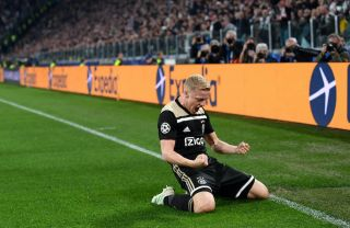 Double Good News For Man United As Ajax Line Up Without Donny Van De Beek