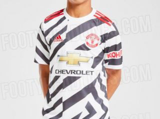 Photo Man United S Leaked Third Zebra Kit Has These Supporters Baffled