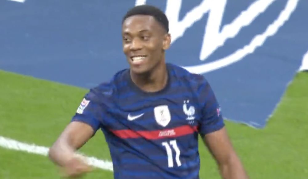 Video Anthony Martial Continues Impressive Form With Quick Fire Assist And Goal For France Vs Croatia