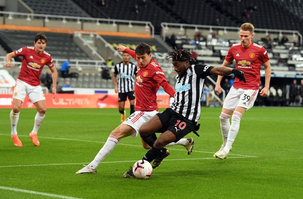 Opinion Man United Player Ratings Vs Newcastle United Best Game In A United Shirt For Young Attacker As Maguire Silences Critics