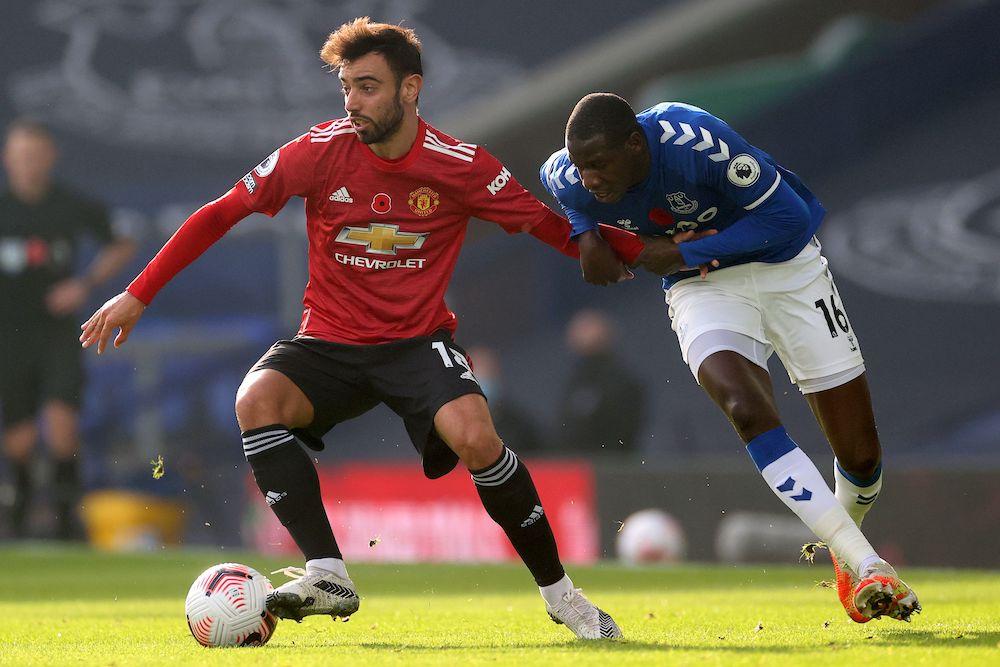 Man United Player Ratings Vs Everton Bruno Fernandes