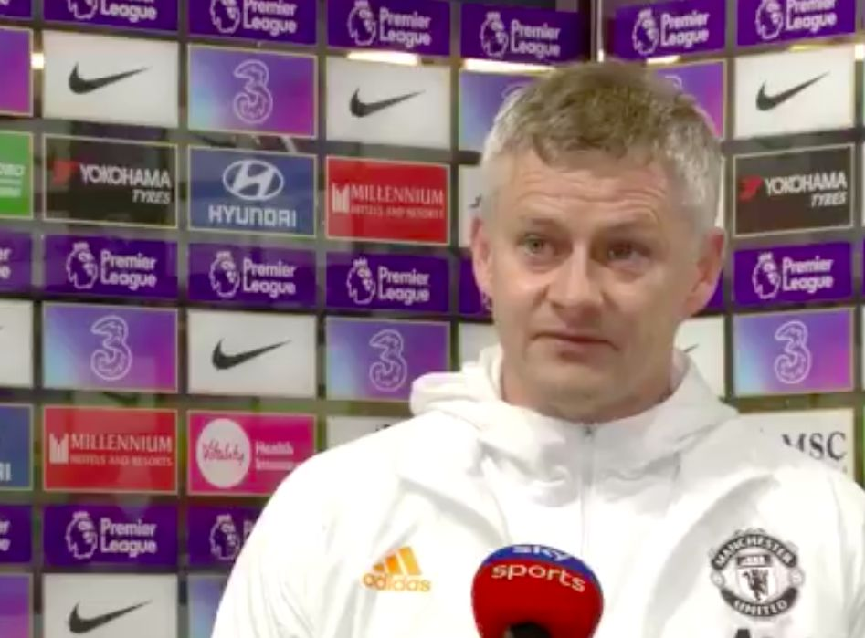 """""""Taken two points away from us"""": Solskjaer angry with Man Utd penalty decision vs Chelsea"""