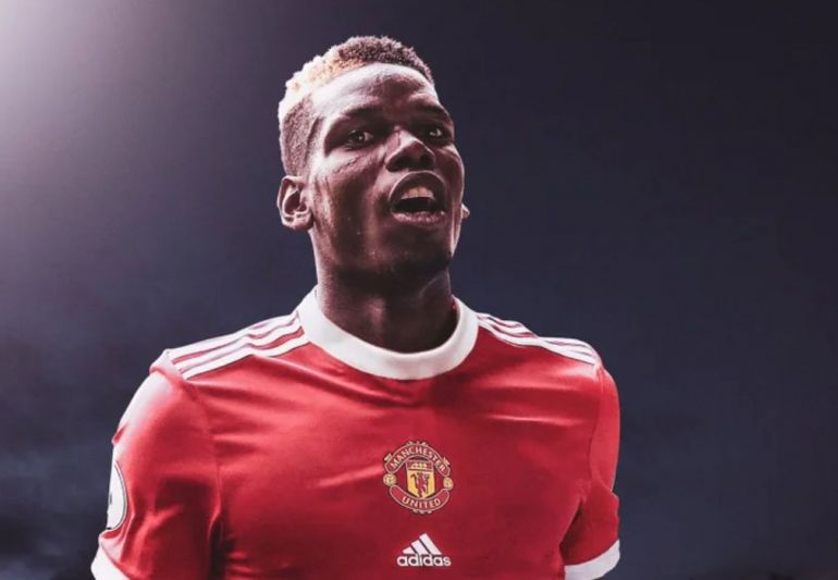 Rumoured Man Utd 2021 22 Home Kit Looks Better With Paul Pogba In It